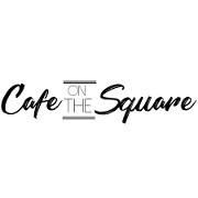 This is the restaurant logo for Cafe on the Square