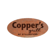 This is the restaurant logo for Copper's Grill @ Stillwaters Golf