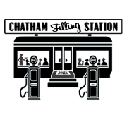 This is the restaurant logo for Chatham Filling Station