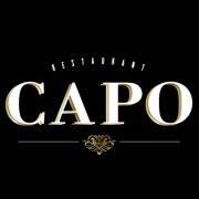 This is the restaurant logo for Capo Restaurant