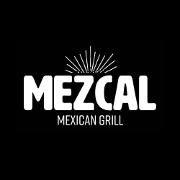 This is the restaurant logo for Mezcal Mexican Grill