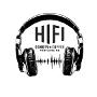 Restaurant logo for HiFi Donuts