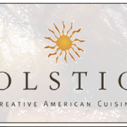 This is the restaurant logo for Solstice Restaurant - Kingston, MA