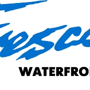 This is the restaurant logo for Fresco's Waterfront Bistro