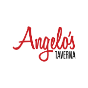 This is the restaurant logo for Angelo's Taverna
