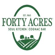This is the restaurant logo for Forty Acres Soul Kitchen