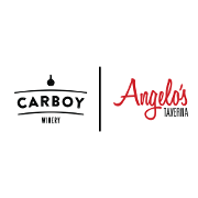 This is the restaurant logo for Angelo's Taverna / Carboy Winery - Littleton