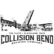 This is the restaurant logo for Collision Bend Brewery