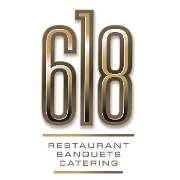 This is the restaurant logo for 618