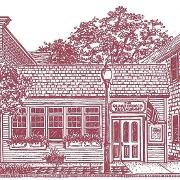 This is the restaurant logo for Quarterdeck Restaurant