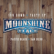 This is the restaurant logo for Moonshine Beach