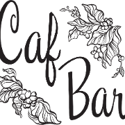 This is the restaurant logo for Caf Bar