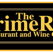This is the restaurant logo for The Prime Rib Restaurant & Wine Cellar