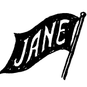 This is the restaurant logo for Jane
