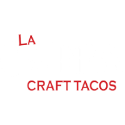 This is the restaurant logo for La Cabra Craft Tacos