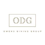 This is the restaurant logo for Opal Restaurant + Bar
