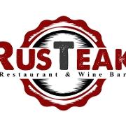 This is the restaurant logo for RusTeak Ocoee