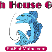 This is the restaurant logo for The Fish House Grill