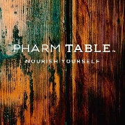 This is the restaurant logo for Pharm Table