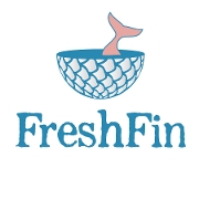 This is the restaurant logo for FreshFin