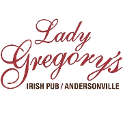 This is the restaurant logo for Lady Gregory's