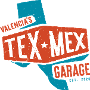 Restaurant logo for Valencia's Tex-Mex Garage