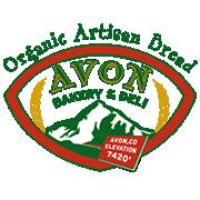 This is the restaurant logo for Avon Bakery & Deli
