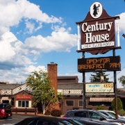 This is the restaurant logo for Century House Restaurant