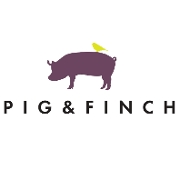 This is the restaurant logo for Pig & Finch
