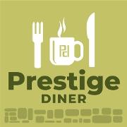 This is the restaurant logo for Prestige Diner