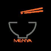 This is the restaurant logo for Menya #1