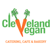 This is the restaurant logo for Cleveland Vegan