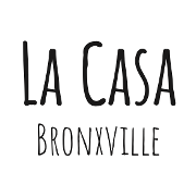This is the restaurant logo for La Casa Bronxville