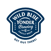 This is the restaurant logo for Wild Blue Yonder Brewing Co