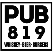 This is the restaurant logo for Pub 819