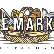 This is the restaurant logo for One Market Restaurant / Mark 'n Mike's NY Style Delicatessen