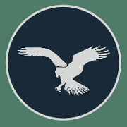 This is the restaurant logo for The Osprey