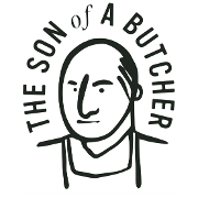 This is the restaurant logo for The Son of a Butcher