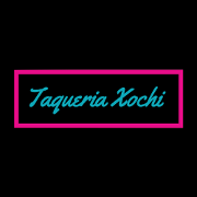 This is the restaurant logo for Taqueria Xochi