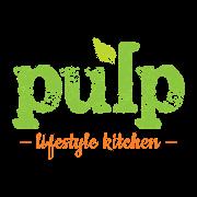 This is the restaurant logo for Pulp Lifestyle Kitchen - Gallivan