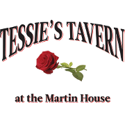 This is the restaurant logo for Tessies Tavern