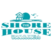 This is the restaurant logo for The Shore House Bar & Grill