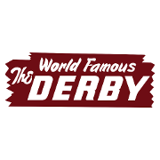 This is the restaurant logo for The Derby - Arcadia