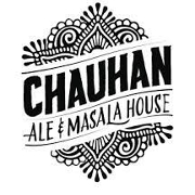 This is the restaurant logo for Chauhan Ale And Masala House