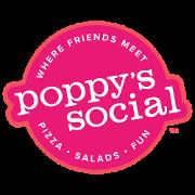 This is the restaurant logo for Poppy's Social