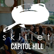 This is the restaurant logo for Skillet Capitol Hill