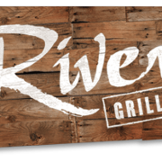 This is the restaurant logo for River Grille