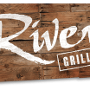 Restaurant logo for River Grille