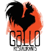 This is the restaurant logo for Cafe Pronto & Gallo Coal Fire Kitchen