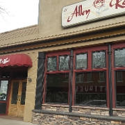 This is the restaurant logo for Alley Rose